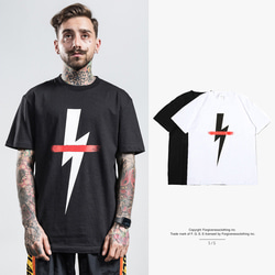 105168 NE 미니멀 라이징 하프 티셔츠 (2Color)