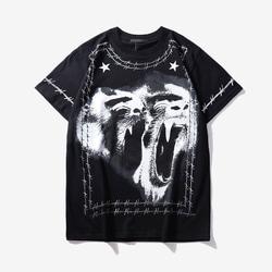 105194 GI 오랑우탄 팬스 하프 티셔츠 (Black)