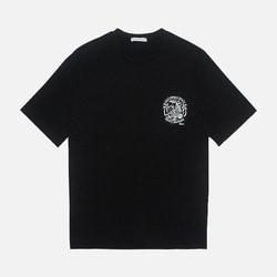 105464 포켓 서핑프린팅 하프 티셔츠 (2Color)