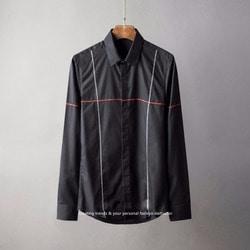 105806 프리퀀시 스티치 라린포인트 히든버튼 셔츠 (2Color)