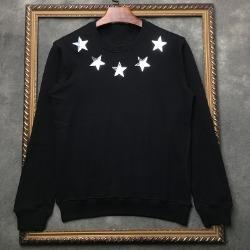 106393 GI 시그니처 샤이닝스타 라운딩 맨투맨 티셔츠 (Black)