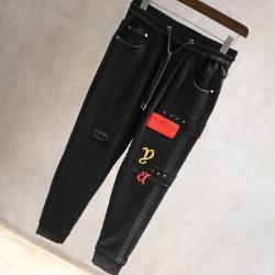 106431 유니크 스트레치 징포인트 트레이닝 팬츠 (Black)