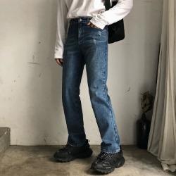 106465 리온 스플렌디드라인 스트레이트 데님 팬츠 (Blue)