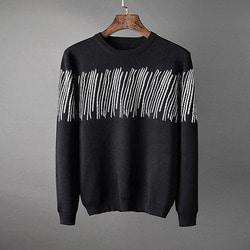 106156 스플렌디드 이레이스 초크레인 포인트 니트 (Black)