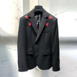 106713 GI 스타라인 라운딩 포인트 싱글 자켓 (Black)