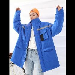 106483 프레데릭 오버라인 윈드브레이커 점퍼 (Blue)