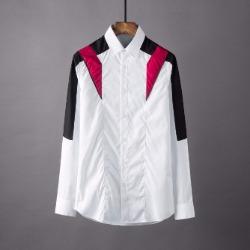 106881 NE 지오메트릭 고저스라인 히든버튼 셔츠 (White)