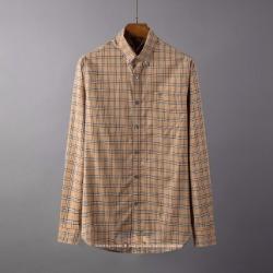 107087 BE 체크패턴 포인트 다운버튼 셔츠 (2Color)