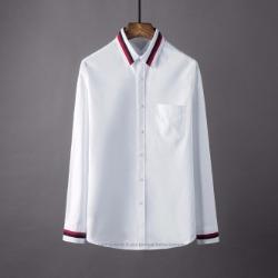 106888 유니크 시메트릭 더블트랙라인 포인트 셔츠 (2Color)