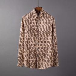 107086 FE 고저스라인 시그니처 로고패턴 셔츠 (3Color)