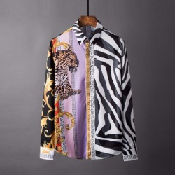 106865 VA 로얄 팬시라인 베리어스 프린팅 셔츠 (Multi)