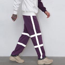 106898 유니크 스티치라인 크로스트랙 트레이닝 팬츠 (Purple)