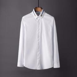 106860 스플렌디드라인 레이즈카라 히든버튼 셔츠 (White,Navy/44(100))