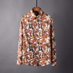 106874 알렉산드로 미스터리패턴 히든버튼 셔츠 (Multi)