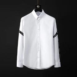 107092 스플렌디드 시메트릭 사이드 레터링 셔츠 (White)