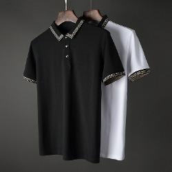 107416 VE 시그니처 트랙라인 카라 하프 티셔츠 (2Color)