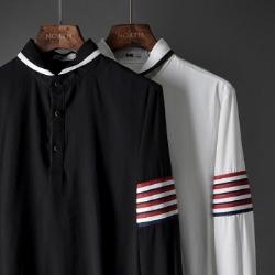 107411 스플렌디드 사이드지퍼 트랙포인트 티셔츠 (2Color)