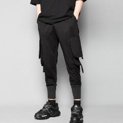 107219 유니크 사이드포켓 포인트 트레이닝 팬츠 (Black)