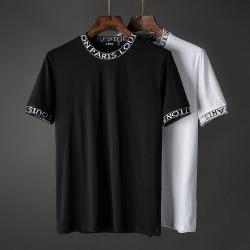 107418 스플렌디드 레터링 포인트 하프 티셔츠 (2Color)