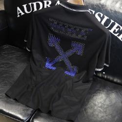 107595 OF 시그니처 비조포인트 하프 티셔츠 (2Color)