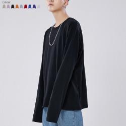 107725 스플렌디드 미니멀리즘 루즈핏 티셔츠 (9Color)