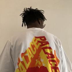 107865 PA 트라이앵글 파이어 포인트 하프 티셔츠 (2Color)