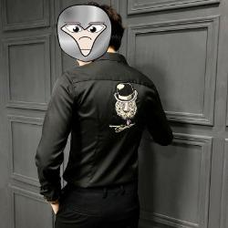 107802 테오도어 실키라인 젠틀타이거 포인트 셔츠 (3Color)