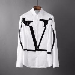 107815 고저스 스플렌디드 브이라인 크랙포인트 셔츠 (White)