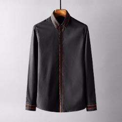 107784 스플렌디드 고저스라인 트랙포인트 히든버튼 셔츠 (2Color)