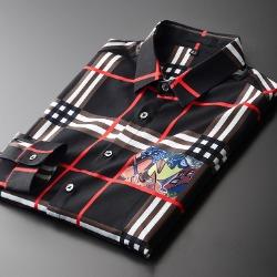 107906 테오도어 고저스라인 멀티체크 셔츠 (Black)