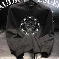 108171 비조라인 타이거 엠브로이드 맨투맨 티셔츠 (Black)