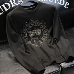 108170 고저스 라필드라인 비조포인트 맨투맨 티셔츠 (Black)