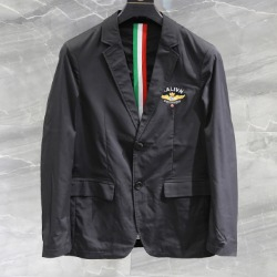 108164 테오도어 이태리 트리플라인 포인트 자켓 (Black)