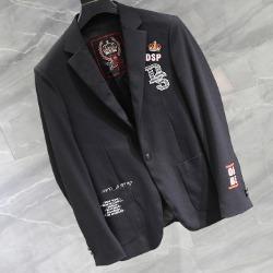 108159 로얄 킹덤라인 크라운 엠브로이드 자켓 (Black)