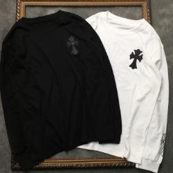 108321 CH 시그니처 크로스 포인트 프린팅 티셔츠 (2Color)