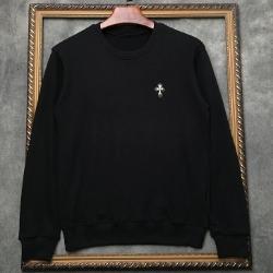 108286 시그니처 크로스 포인트 맨투맨 티셔츠 (Black)