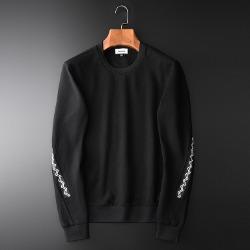 108362 사이드라인 지그재그 트랙포인트 맨투맨 티셔츠 (Black)