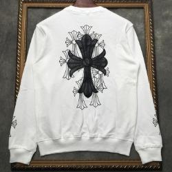 108322 시그니처 크로스 프린팅 맨투맨 티셔츠 (2Color)