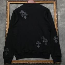108332 시그니처 크로스라인 패턴포인트 맨투맨 티셔츠 (2Color)