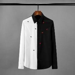 108511 로얄 아수라라인 벌꿀 엠브로이드 셔츠 (Black)