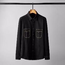 108517 스플렌디드 베리어스 비조라인 포켓포인트 셔츠 (Black)