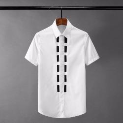 108529 고져스 프론트 버튼 라인 포인트 반팔 셔츠