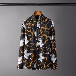 108556 고져스 플라잉 크레인 히든버튼 셔츠