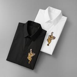 108569 체스트 포인트 타이거 자수패치 셔츠