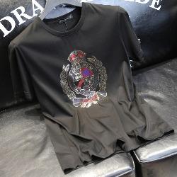 108679 로얄 크라운 프린팅 반팔 티셔츠