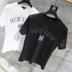 108673 다이아몬드 뉴욕 체스트 프린팅 반팔 티셔츠