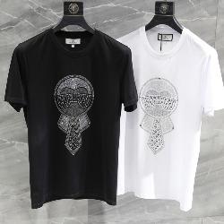 108722 다이아몬드 비죠 라파예트 프린팅 반팔 티셔츠