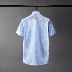 108809 허니비 자수 포인트 스프라이프 반팔 셔츠