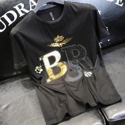 108793 크라운 이글 레터링 반팔 티셔츠