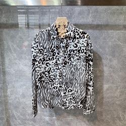 108822 유니크 지브라 패턴 루즈핏 셔츠